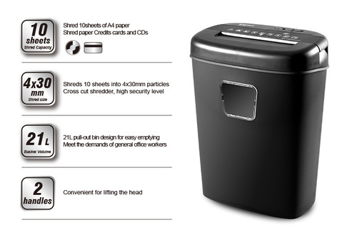 ONYX OX7500  Paper Shredder