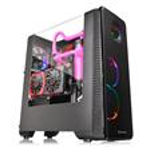Case Thermaltake View 28 RGB Gull-Wing Window ATX Mid-Tower Chassis