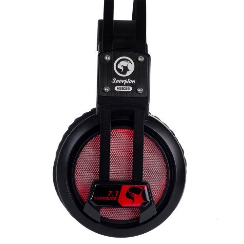 MARVO Headset HG9028 BACKLIT, STEREO GAMING HEADSET Compatibility: PC, consoles (PS4, Xbox One)