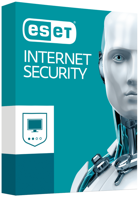 ESET NOD32 Internet Security 1 Licenses for 2 PCs