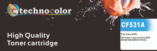 TechnoColor 205A HP Compatible LaserJet Toner Cartridge Black, Cyan, Magenta, Yellow ( CF530A, CF531A, CF532A, CF533A )