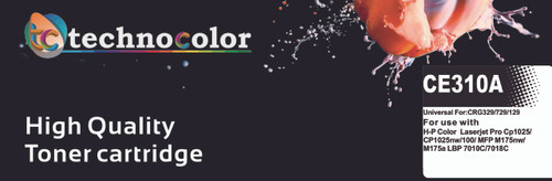 TechnoColor 126A BLACK HP Compatible LaserJet Toner Cartridge ( CE310A )