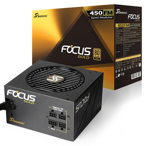 Power Supply SeaSonic FOCUS GOLD 450W-550W-650W-750W