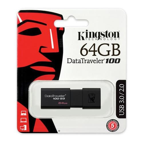 Kingston USB 64GB USB 3.0 DataTraveler (DT100G3/64GB )