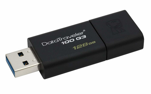 Kingston USB 128GB USB 3.0 DataTraveler (DT100G3/128GB)