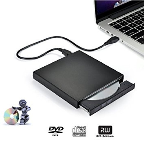 External DVD Writer Drive +/-RW with M-DISC Support (Black) GP65NB60