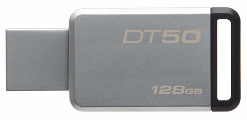 Kingston Digital 128GB USB 3.0 Data Traveler 50, 110MB/s Read, 15MB/s Write (DT50/128GB)