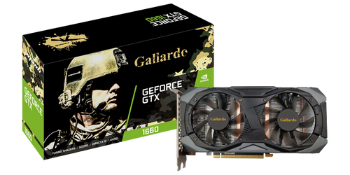 VGA Manli GeForce® GTX 1660 Gallardo