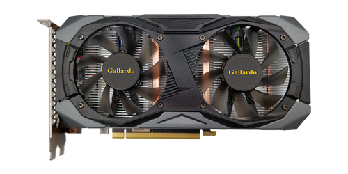 GA Manli GeForce® GTX 1660TI 6GB GDDR5 Gallardo