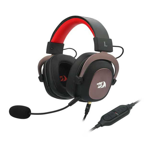 Redragon H510 Zeus Wired Gaming Headset, 7.1 Surround-Sound, 53MM Drivers, Detachable Microphone - Works with PC/PS4 & Xbox One, Nintendo Switch (view)