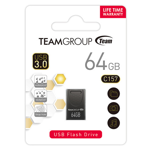 TEAM GROUP FLASH DRIVE C157 USB 3.0 ,16GB, 32GB, 64GB Rectangular & Minimalist