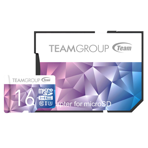 TEAM GROUP Color Card II UHS-I U3 MicroSD CARD 128GB, 64GB, 32GB, 16GB up to 90MB/s and 45MB/s