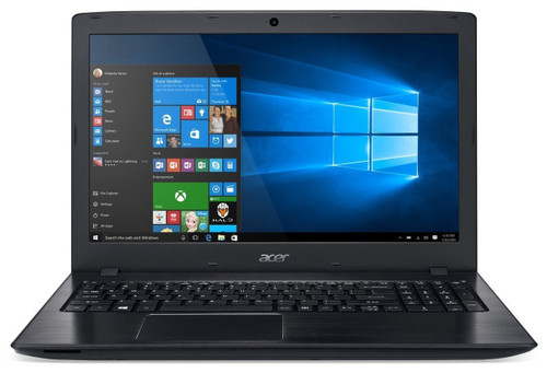 "Acer Aspire E (E5-576-34KZ), Intel Core i3-7020U, 15.6"" HD Acer CineCrystal LED LCD, 4 GB DDR3 , 1TB HDD, DVD-Writer, DOS, BLACK"