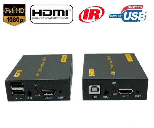 HDMI and USB Extender Over UTP Cable
