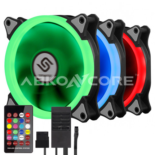 ABKONCORE 3in1 KIT RGB LED Fans SYNC 120F