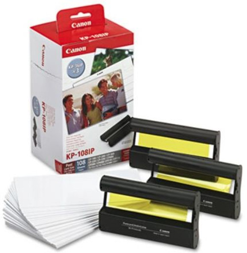 Canon KP108IP 10x15 KP-108IP Value cartridge pack - 108 Prints ,CP-100 CP-200 CP-300 CP-220 CP-330 CP400 CP500 CP600 CP510 CP710