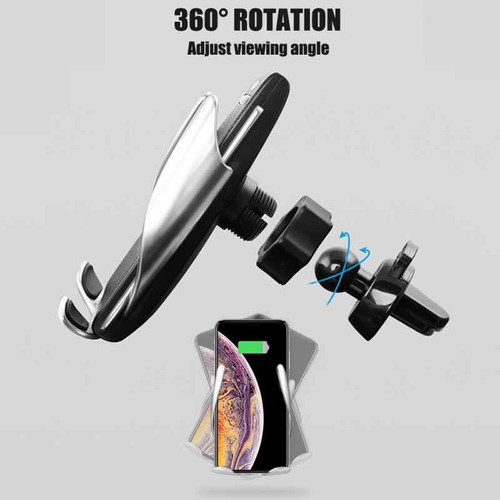 Mobile Phones Smart Sensor Car Wireless Charger Stand 10W Fast Charging Holder