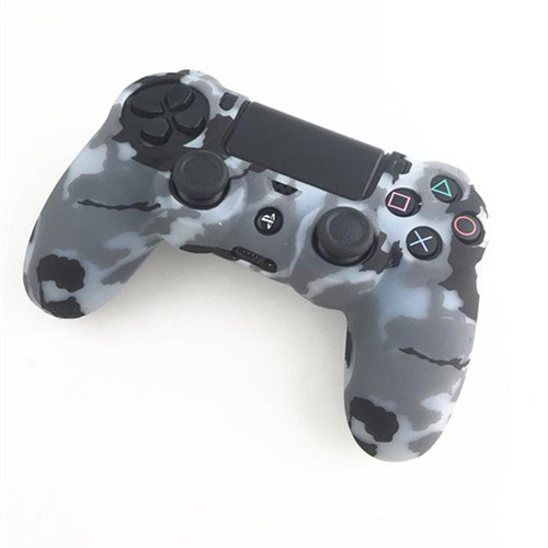Silicone Skin Grip Cover Case For PS4 Controllers
