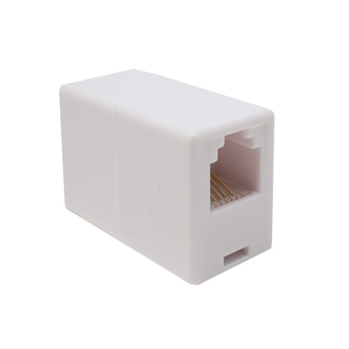 RJ11 to RJ11 Coupler ADSL Connector Adapter/Socket to Socket/Female to Female