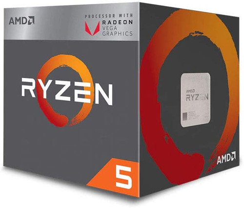 AMD Ryzen 5 3400G 4-core, 8-Thread Unlocked Desktop Processor with Radeon RX Graphics
