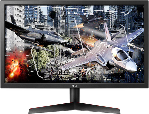 LG LED Screen Ultragear 24GL600F-B 24 Inch Full HD Gaming Monitor with Radeon FreeSync Technology, 144Hz Refresh Rate, 1ms Response Time (2019)