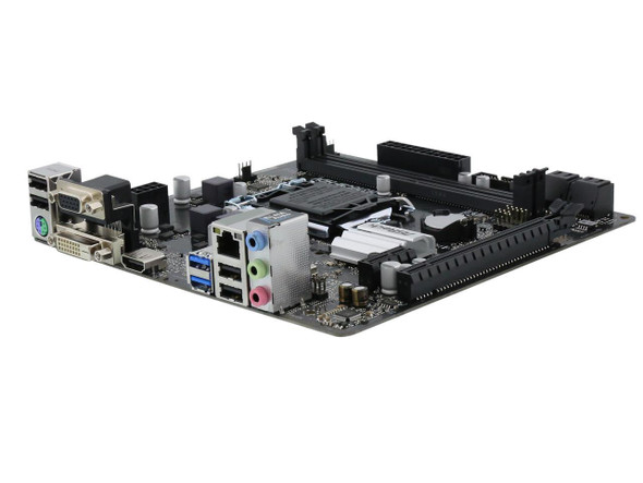 ASRock H310CM-HDV LGA 1151 (300 Series) Intel H310 HDMI SATA 6Gb/s USB 3.1 Micro ATX Intel Motherboard