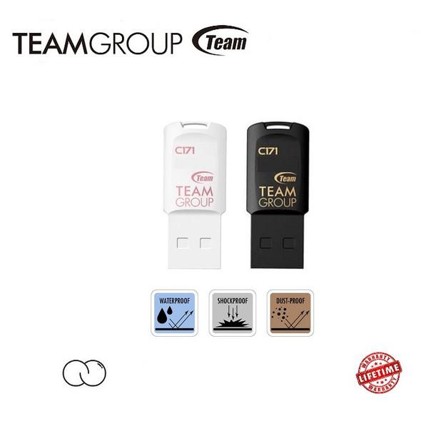 TEAM 32GB C171 USB 2.0 DRIVE BLACK Retail Model TC17132GB01