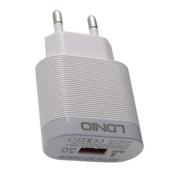 LDNIO Qualcomm 3.0 Travel Companion Quick Charger A303Q with Type C Cable