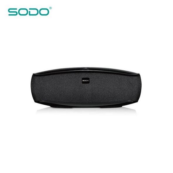 SODO L3 Touch Control TWS Deep Base Wireless Bluetooth Speaker Bluetooth V4.2 16W Enhanced Bass FMTF Card MP3 MP4 Player