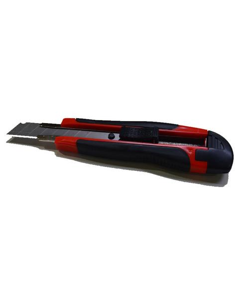 JIANZHONG AUTO LOCK CUTTER KNIFE WITH 18MM BLADE 5 PCS, PT-8630