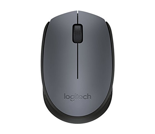 ogitech M170 Wireless Mouse ???? for Computer and Laptop Use, USB Receiver and 12 Month Battery Life, Gray