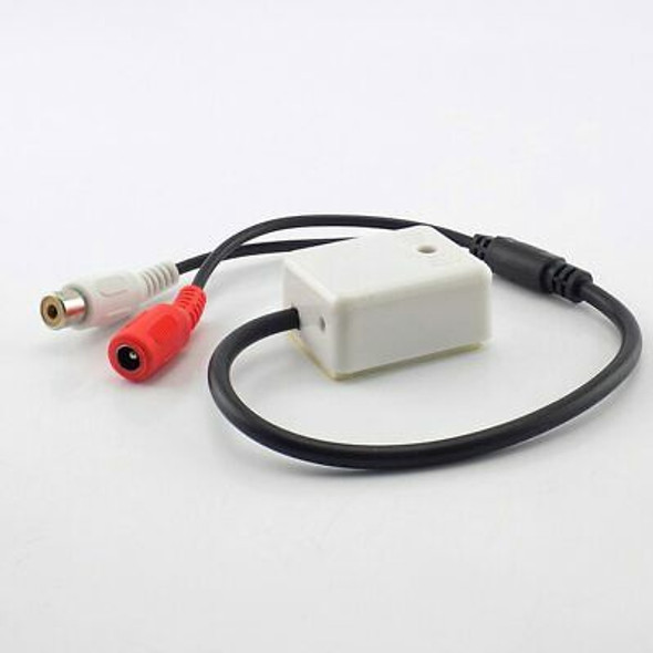 Mic Microphone Audio Pickup Sound Monitoring Device For Security CCTV Camera