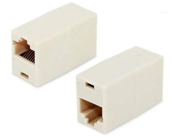 RJ45 Female Cat5e Ethernet Network Connector Adapter Joiner Coupler