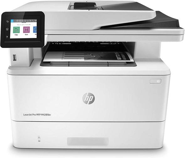 HP LaserJet Pro M428fdw (W1A30A) Auto Duplex Wireless/USB Monochrome All-in-One MFP Laser Printer