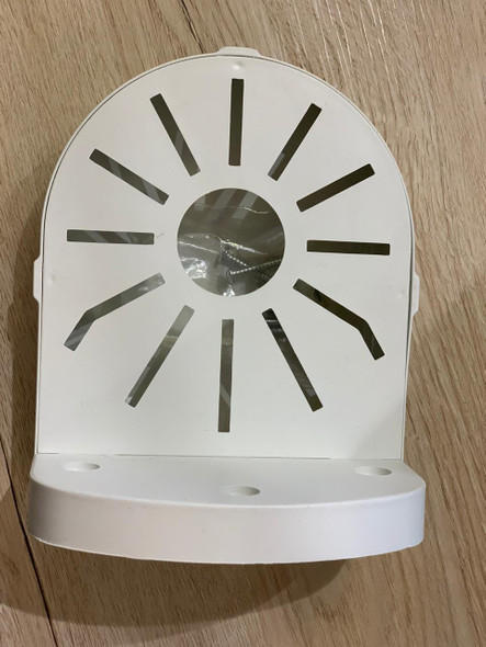 White Plastic Wall Mount Bracket Stand 201A for CCTV Dome Camera