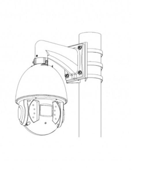Universal Pole Mounting Mount Bracket UK-104B for CCTV Security Camera