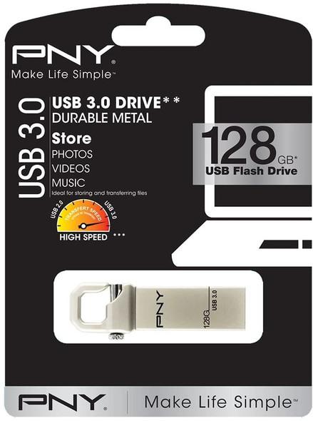 PNY Hook Attache 128 GB USB Flash Drive