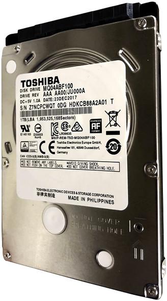 """HDD Toshiba for laptop 1TB/1000GB 5400rpm Sata 7mm 2.5"""" Hard Drive 128mb, 6 Gbit/s. MQ04ABF100"""