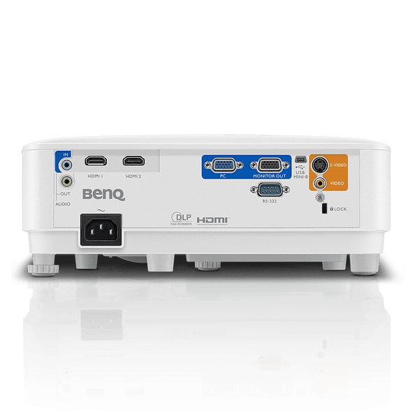BenQ XGA Business Projector MX550, DLP, 3600 Lumens High Brightness, 20000:1 High Contrast Ratio, Dual HDMI, VGA, Keystone Correction, Simple Setup, SmartEco Technology
