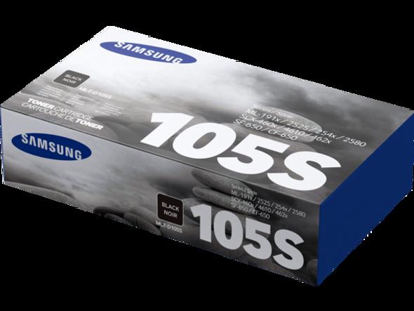 Toner Samsung MLT-D105S Original Printer Cartridge - Black for SF-650, 650P. ML-1910, 1915, 2525W, 2540, 2545, 2580N. SCX-4600, 4623F, 4623FN, 4623FW.