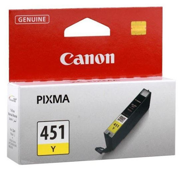 Canon Ink Cartridge CLI451 YELLOW