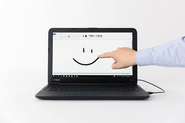 """AirBar by Neonode - Add Touchscreen to 15.6"""" Windows 10 Laptops"""