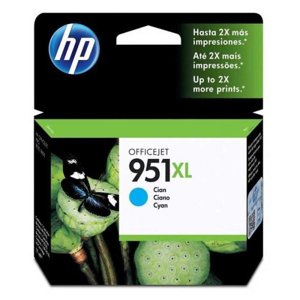 HP 951XL Cyan High Yield Original Ink (CN046AE)
