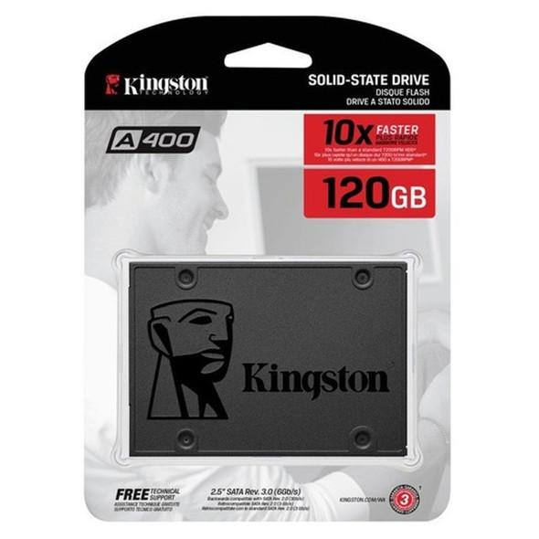 """SSD Kingston 120GB A400 SATA 3 2.5"""" Internal SSD SA400S37/120G"""
