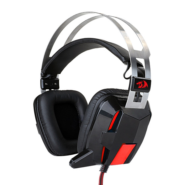 Redragon H201 Stereo Gaming Headset for PS4, Xbox One????PC and Smartphones, Over Ear Noise Reduction Gaming Headphone with Mic, Bass Surround, Universal 3.5mm