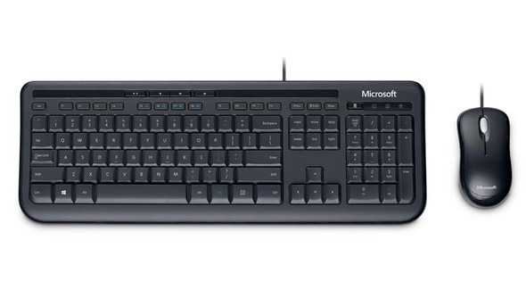 Microsoft Keyboard & Mouse Wired 3J2-00009 for Desktop Computers