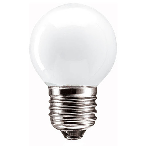 Tungsram Light Bulb - 40w E27 240v Frosted 45mm Small , لمبة 40 وات برم حجم صغير - Made in Hungary