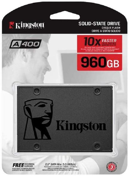 """SSD Kingston 960GB A400 SATA 3 2.5"""" Internal SSD SA400S37/960G"""