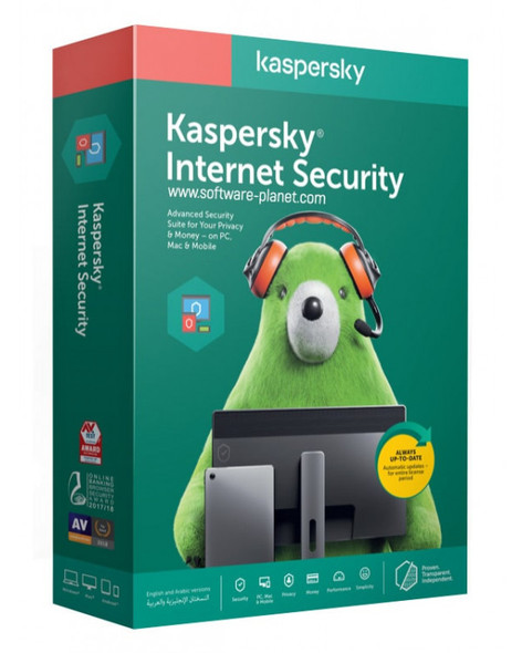 Kaspersky Internet Security 2 Devices   1 Year License