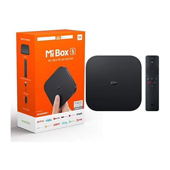 Xiaomi Mi Box S | 4K HDR Android TV with Google Assistant Remote Streaming Media Player